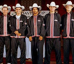 US Davis Cup Team